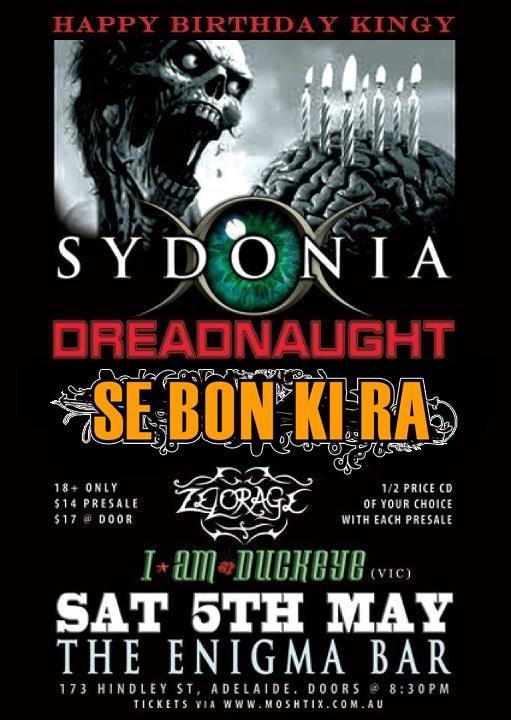Sydonia, Dreadnaught, sebonkira,