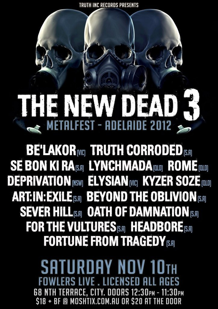 The New Dead 3 Metal Festival