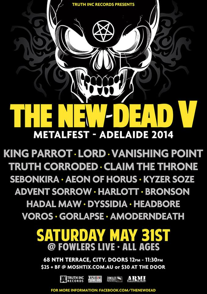 The New Dead V 5 Five Metal Festival
