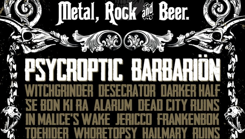 Heavy Music Magazine Present Brewtality 2014  Heavy Metal SEBONKIRA