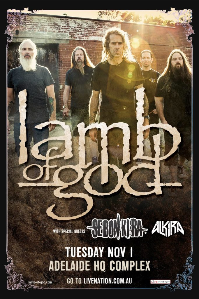 lamb of god se bon ki ra hq-complex adelaide- Heavymetal